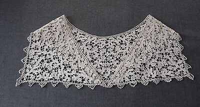 Antique Important Lace Bride Collar     7793 C