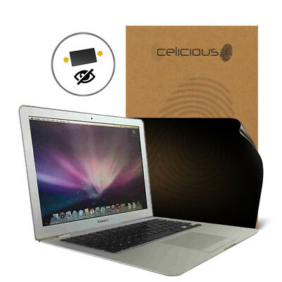 Celicious Privacy Apple Macbook Air 13 (2009) [2-Wege-Filter] Displayschutzfolie