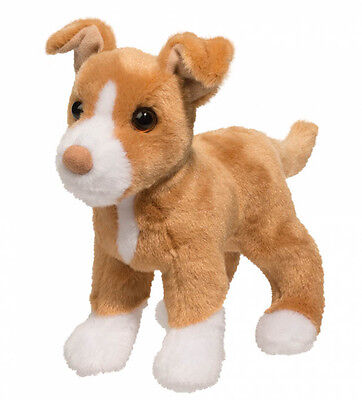 New DOUGLAS TOY Stuffed Plush PIT BULL TERRIER DOG Soft Animal Puppy