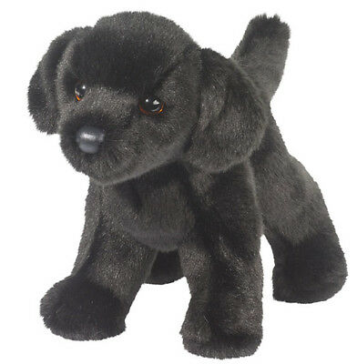 New DOUGLAS CUDDLE TOY Stuffed Plush BLACK LAB Labrador Retriever DOG PUPPY
