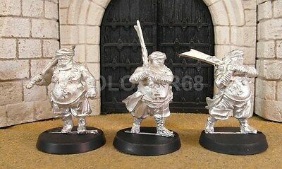 3 ABRAGHAN GUARDS - Lord Of The Rings Metal Figure(s)