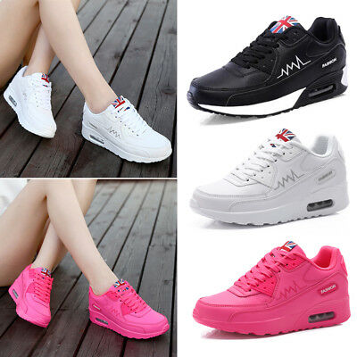 Womens Ladies Running Trainers Sports Walking Shoes Casual Breathing Sneakers