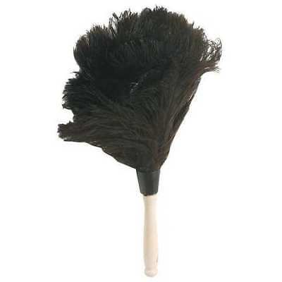 TOUGH GUY 1MYG1 Duster, 14 In, Feather, Brown