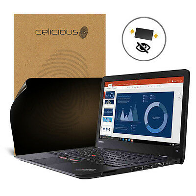Celicious Privacy Lenovo ThinkPad T460s [2-Wege-Filter] Displayschutzfolie
