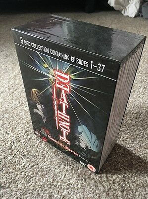 Death Note The Complete Series Box Set DVD