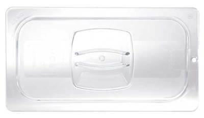 Cold Food Pan Cover with Peg Holes, Rubbermaid, FG108P23CLR