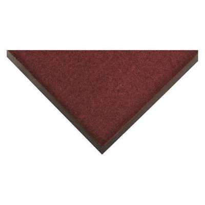 Carpeted Entrance Mat,Burgundy,3ft.x5ft. CONDOR 6PWK8