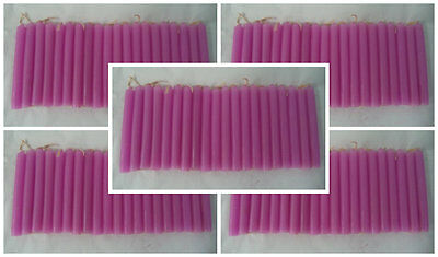 """Wholesale Lot 100 Mini 4"""" Chime Spell Candles: Pink (Wicca Altar Ritual) 5 x 20"""