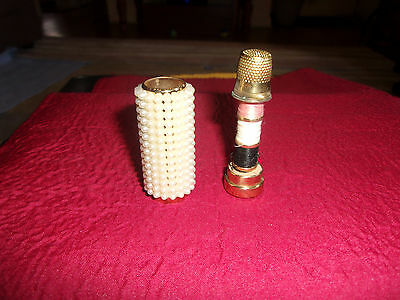 pearl thimble holder