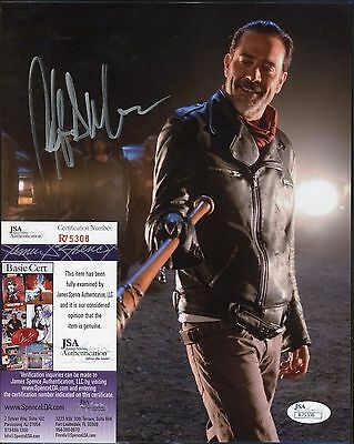 Jeffrey Dean Morgan The Walking Dead Signed 8x10 Photo JSA COA AUTO Autograph