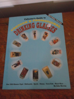 Collectors Guide Cartoon Promo Drinking Glasses PB John Hervey 1995