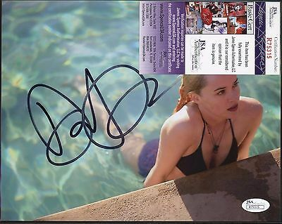 Dakota Johnson A Bigger Splash Signed 8x10 Photo JSA COA AUTO Autograph