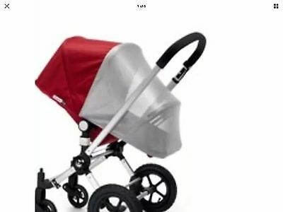 bugaboo cameleon silver mesh sun shade mosquito insect net