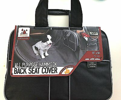 """New ! Waterproof All Purpose Hammock Back Seat Cover-FOR PETS 55"""" X 56"""""""