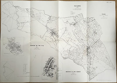 Inclosure Enclosure Map Moreton In The Marsh & Bourton On The Hill 1821