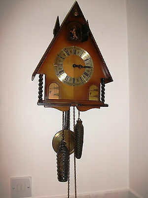 Cuckoo Style Clock Twin Weight Driven