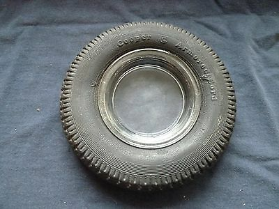 Vintage Cooper Tire Ashtray - Armored Cord
