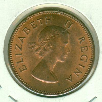 South Africa Uncirculated 1959 1/2 Penny-SUN0423