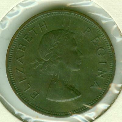 South Africa Uncirculated 1953 Penny-SUN0423