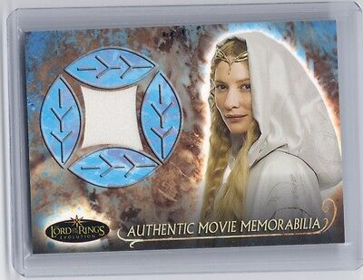 LOTR Lord Of The Rings Evolution Galadriel's Grey Havens Cloak costume card #5