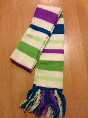 GIRL'S SCARF TWEEN COOL COLORS WINTER From JUSTICE