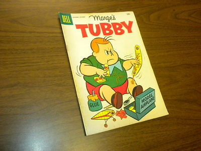 TUBBY #19 Dell Comics 1956 Marge's Little Lulu NO SUBSCRIPTION CREASE