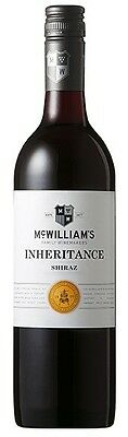 McWilliam's `Inheritance` Shiraz 2014 (12 x 750mL), SE AUS.