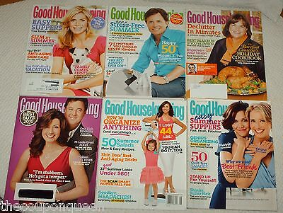 20 Issues of Good Housekeeping Magazine * 2009, 2010, 2011 *