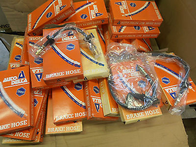 Joblot Of Flexi Brake Pipes Brake Hoses X 40 Autodelta New Old Stock Clearance
