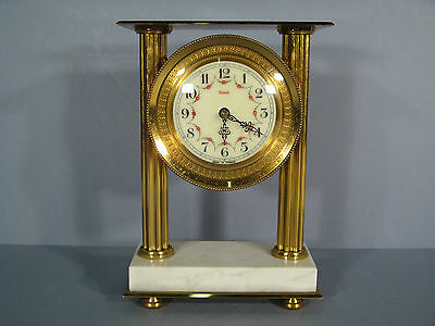 Table Clock Brass And Marble / Table Clock Style Louis Xvi Brand Star