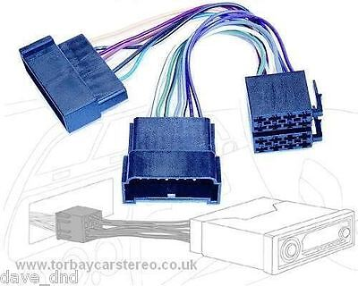 Autoleads PC2-50-4  Ford Galaxy Volkswagen Sharan to ISO Adaptor