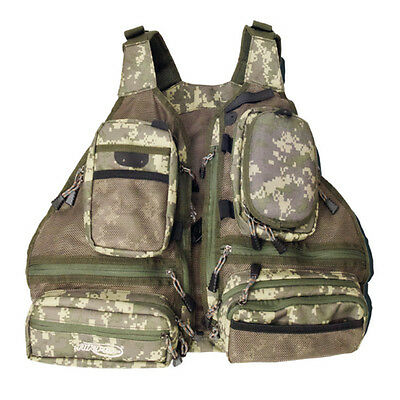 Airflo NEW Lightweight Outlander Covert Camouflaged Fly Fishing Vest