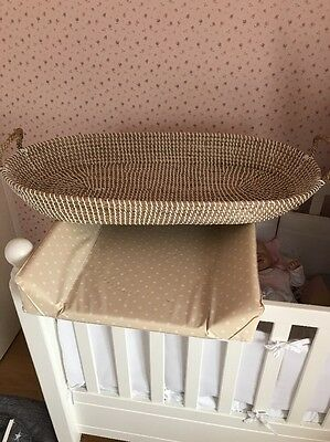 Ollie Ella Baby Changing Basket. New.