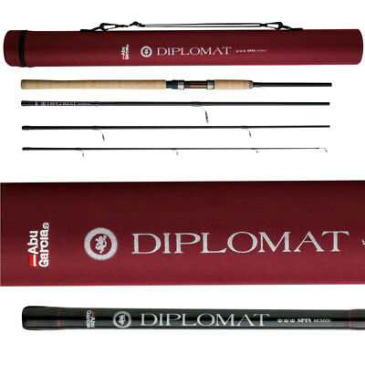 Abu Garcia Diplomat Spinning 804Ml 10-25G Spinn Reise Rute Travel Rod