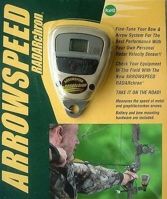 Chronograph Sports Sensors ASR362 Arrowspeed Radarchron,