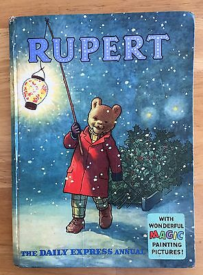 RUPERT ORIGINAL ANNUAL 1960 Inscribed Price Intact Magic Paintings Done