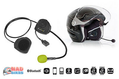 Twiins D3 Motorcycle Hands Free Phone, Music, Sat Nav Bluetooth Intercom System