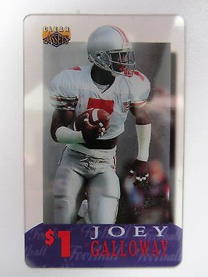 Telefonkarte Phonecard USA Football JOEY GALLOWAY National Football League NFL