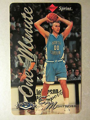 Sprint Phonecard Telefonkarte USA Basketball Player ERIC MONTROSS Unscratched