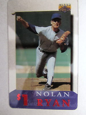 1$ Telefonkarte Phone-Card USA Major League Baseball Spieler Player NOLAN RYAN