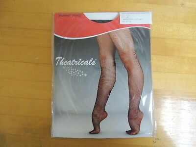 Theatricals Childs Black Footed Fishnet Tights  Style T5700 Size Os