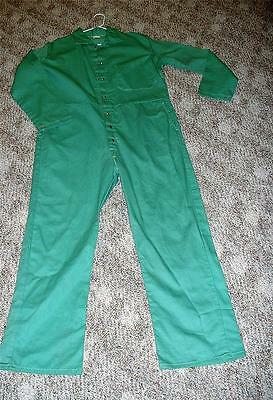 Westex Proban FR-7A Flame Resistant Green Coveralls Size Large