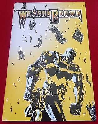 Weapon Brown_Jason Yungbluth_Signed & Limited Omega Edition Book First Printing