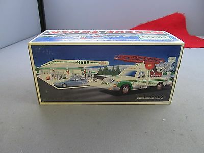 Hess Oil Lights & Sound Toy - 1994 Rescue Truck