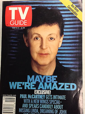 TV Guide Magazine Paul McCartney May 5 11 2001 041617nonrh