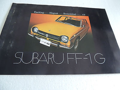 1970 & 71 Suburu FF1  Brochure  Full line series