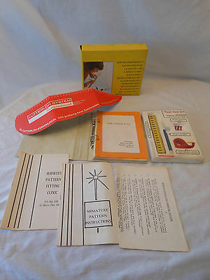 Lutterloh System 1974 Germany THE GOLDEN RULE pattern making cutting