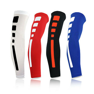 New Men Arm Support Long Sleeve Basketball Shooting Elbow Pads Brace Protector