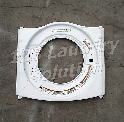 Washer Front Panel For Maytag MHN30PDBWW0 P/N: W10306505 Used