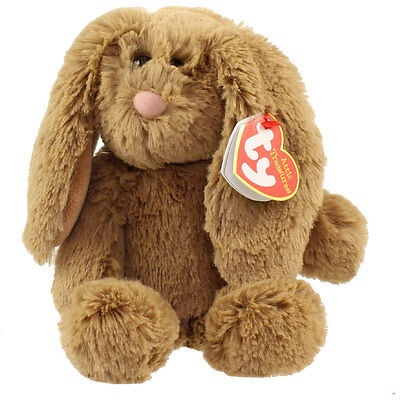 TY Attic Treasures - BUNNI the Brown Bunny (Regular Size - 8 inch) - MWMTs